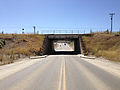 2014-06-12 10 11 31 View east along Nevada State Route 794 (East Winnemucca Boulevard) at the Winnemucca Underpass in Winnemucca, Nevada.JPG