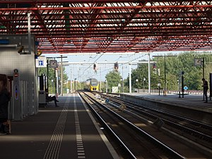 Almere Centrum railway station
