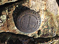 2014-10-09 10 28 58 United State Geological Survey Reference Mark Number 1 at the summit of Granite Peak in Humboldt County, Nevada.JPG