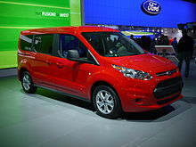 Ford Transit Connect, שנת 2014