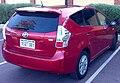 2014 Toyota Prius v (ZVW30R) i-Tech wagon (2015-10-20).jpg