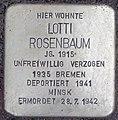 2015-11-21 Neustadt am Rübenberge Stolperstein Rosenbaum Lotti (cropped).jpg
