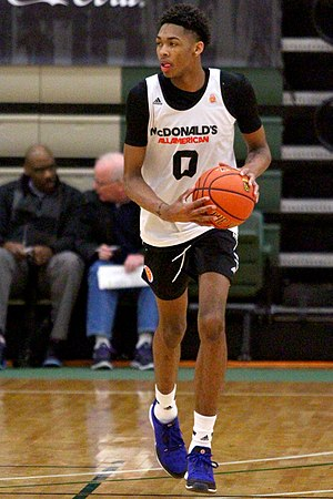 Brandon Ingram - Ingram during a closed practice of the 2015 McDonald's All-American Game