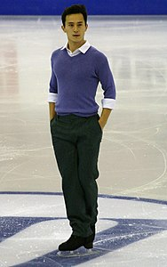 2015 Grand Prix of Figure Skating Final Patrick Chan IMG 7928.JPG