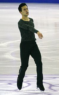 Patrick Chan Canadian figure skater