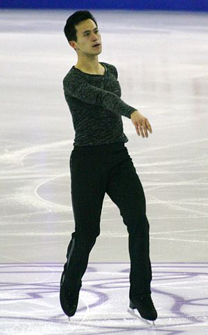 2015 Grand Prix of Figure Skating Final Patrick Chan IMG 9394.JPG