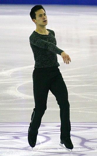 Patrick Chan - Patrick Chan at the 2015 Grand Prix