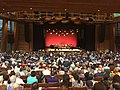 2016-08-11 19 57 48 View of the Filene Center just before a performance by the Silk Road Ensemble with Yo-Yo Ma at Wolf Trap National Park for the Performing Arts in Wolf Trap, Fairfax County, Virginia.jpg