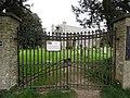 2018-04-24 Gates, Parish church of Saint Margaret, Church Road, Thorpe Market.JPG