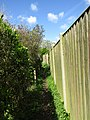 2018-04-26 Footpath to Broadwood Close, Trimmingham.JPG
