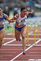 2018 DM Leichtathletik - 100-Meter-Huerden Frauen - Pamela Dutkiewicz - by 2eight - DSC7876.jpg