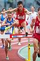 2018 DM Leichtathletik - 3000 Meter Hindernislauf Maenner - Johannes Motschmann - by 2eight - DSC7103.jpg