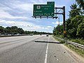 2019-05-27 15 14 26 View north along the outer loop of the Capital Beltway (Interstate 95 and Interstate 495) at Exit 25 (U.S. Route 1-Baltimore Avenue, Laurel, College Park) in College Park, Prince Georges County, Maryland.jpg
