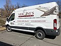 2020-02-21 12 31 31 A Merone's Catering delivery van in the Dulles section of Sterling, Loudoun County, Virginia.jpg