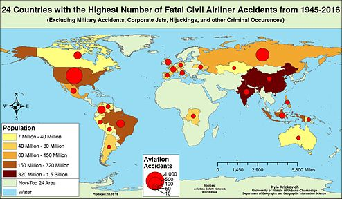 24 Countries with the Highest Number of Civil Airliner Accidents from 1945-2016.jpg