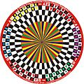 2 Team 3 Each Circular Chess (Teams Together) variant in 6 Players Circular Chess invented by Hridayeshwar Singh Bhati.JPG