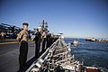 31st MEU Marines man the rails aboard the USS Bonhomme Richard (LHD-6) 150625-M-CX588-113.jpg