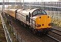 37607 tails 1Y69 Ferme Park - marks Tey - Ferme Park engineers test train towards Witham.jpg