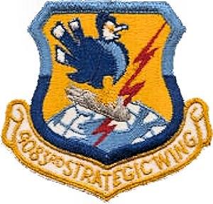 4083d Strategic Wing - Emblem of the 4083d Strategic Wing