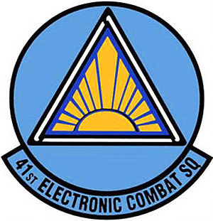 55th Electronic Combat Group - 41st Electronic Combat Squadron emblem