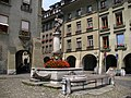 4397 - Bern - Mosesbrunnen am Münsterplatz.JPG