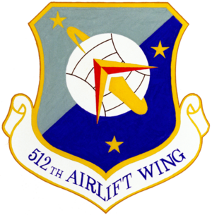 512th Airlift Wing - Image: 512th Airlift Wing