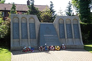 No. 617 Squadron RAF - Dam Busters memorial at Woodhall Spa, Lincolnshire