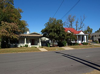 Five Points Historic District (Huntsville, Alabama) - 703 and 705 Ward Ave.