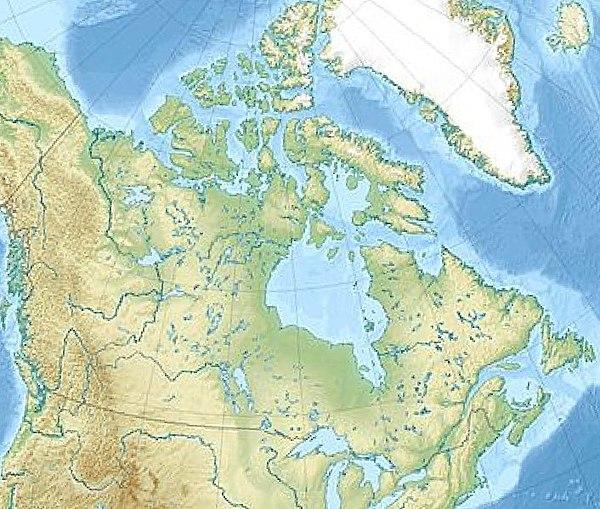 Sablon Pozicios Terkep Kanada Wikiwand