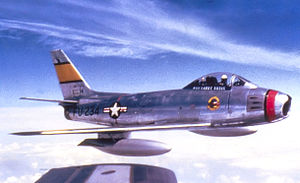 81st Fighter-Bomber Group - 78th FBS North American F-86F Sabre - 51-13234
