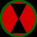 7th Infantry division Shoulder Sleve insignia.png