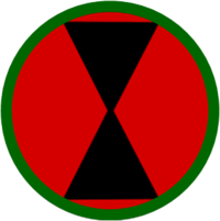 7th Infantry division Shoulder Sleve insignia