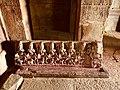 7th century Kumara Brahma Temple, Alampur Navabrahma, Telangana India - 20.jpg
