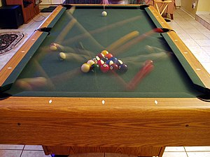 Eightball Wikipedia - How long is a pool table