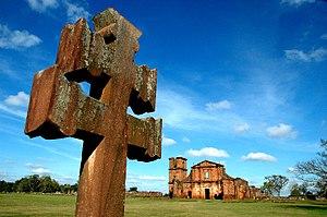São Miguel das Missões - Image: 8a Patrimônio Histórico de São Miguel das Missões foto fernando gomes