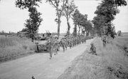8th Royal Scots advancing 28-06-1944