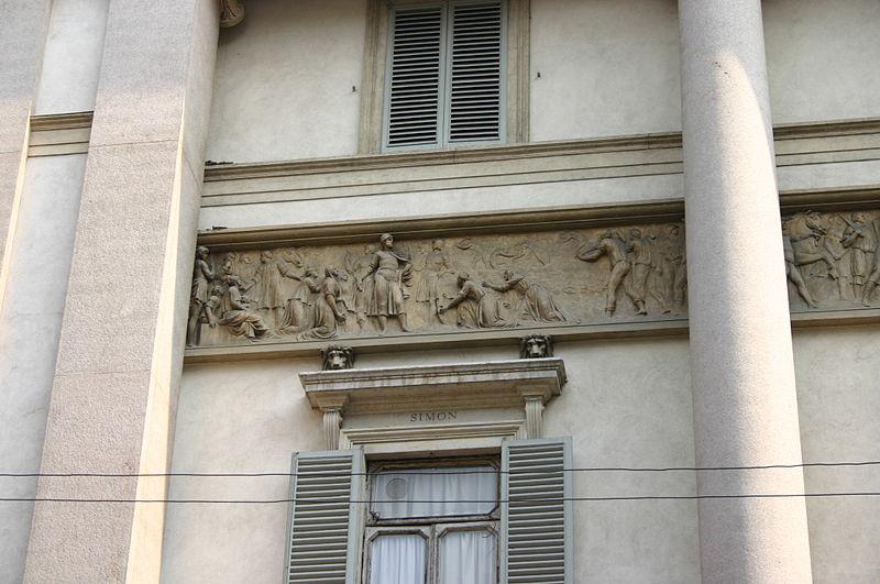 File:9006 - Milano - Corso Venezia - Palazzo Serbelloni - Foto Giovanni Dall'Orto 25-Apr-2007.jpg