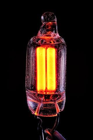 Glow discharge image