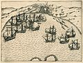 AMH-6470-KB Battle near Bantam between Wolfert Harmensz against the Portuguese.jpg