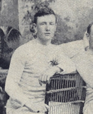 Albert Morel - Albert Morel in the 1892 Ottawa Hockey Club photo