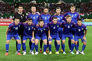 Moldova national football team - Moldova national football team (2015)