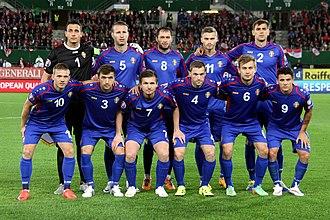 Moldova national football team - Moldova national football team (2015)