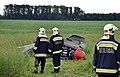 A 88-as főút mellé zuhant a girokopter, az osztrák pilóta túlélte a balesetet.jpg