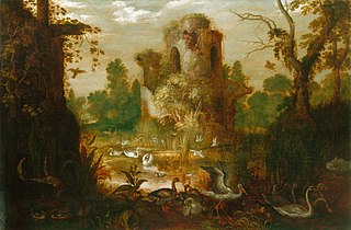 A Landscape with Birds