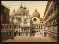 A court in the Doges' Palace, Venice, Italy-LCCN2001700995.tif