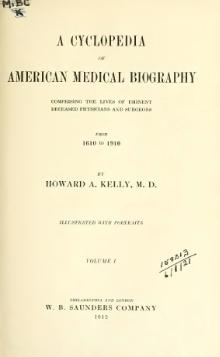 A cyclopedia of American medical biography vol. 1.djvu