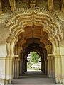 A relief and design in medieval era Hindu temple Karnataka sights culture 2015.jpg