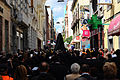 A religious procession in the streets of Santa Cruz de Tenerife. Tenerife, Canary Islands, Spain, Southwestern Europe.jpg