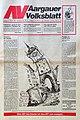 Aargauer Volksblatt, letzte Nummer vom 31. Oktober 1992.jpg