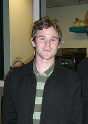 Actor Aaron Ashmore.